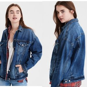 American Eagle Oversized Denim Jacket